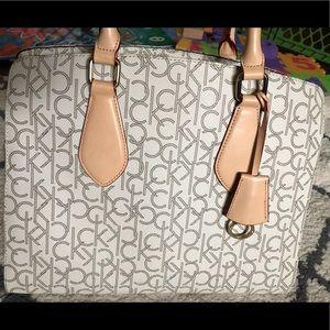 NWOT Auth Calvin Klein Handbag Shoulder Bag Purse